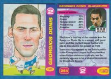 Blackburn Rovers Georgios Donis Greece